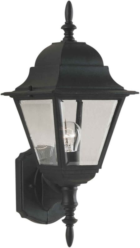Forte Lighting 1707-01 Outdoor Wall Sconce from the Exterior Lighting Sale $39.90 ITEM: bci248309 ID#:1707-01-04 UPC: 93185004758 :