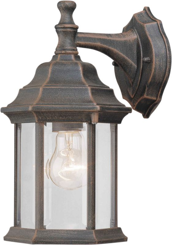 Forte Lighting 1715-01 Outdoor Wall Sconce from the Exterior Lighting
