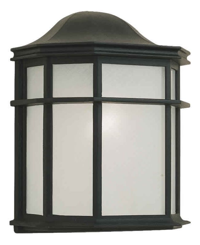 Forte Lighting 1719-01 Outdoor Wall Sconce from the Exterior Lighting