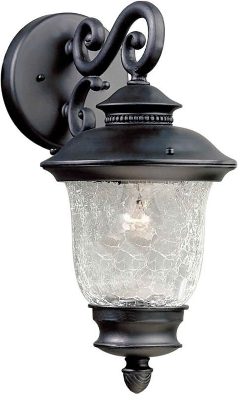 Forte Lighting 1726-01 Outdoor Wall Sconce from the Exterior Lighting