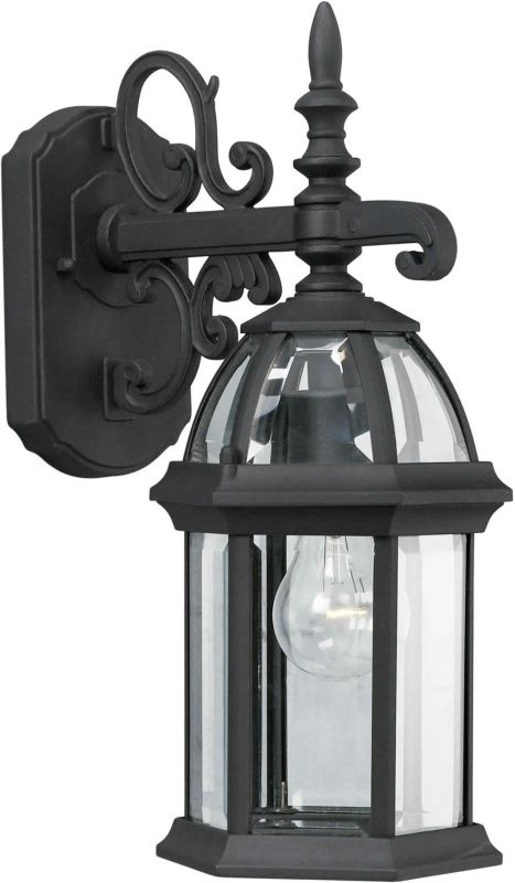 Forte Lighting 1747-01 Outdoor Wall Sconce from the Exterior Lighting