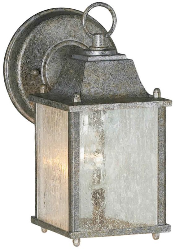 Forte Lighting 1755-01 Craftsman / Mission Outdoor Wall Sconce from
