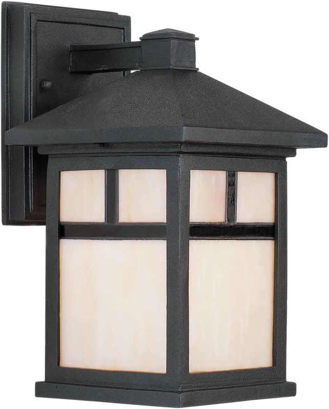 Forte Lighting 1773-01 Craftsman / Mission 1 Light Outdoor Wall Sconce