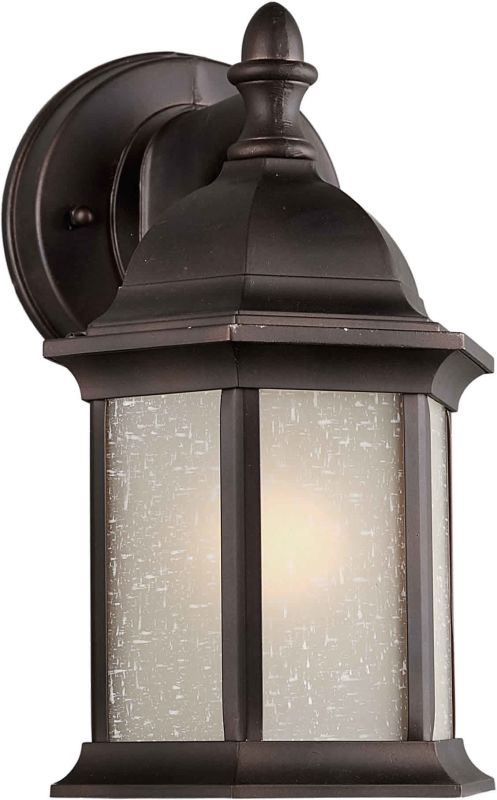 Forte Lighting 1776-01 5Wx9.5Hx6.25E Outdoor Wall Sconce Antique