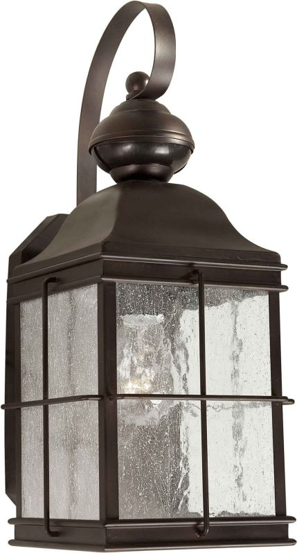 Forte Lighting 18006-01 6Wx13.25Hx8E Energy Efficient Outdoor Wall