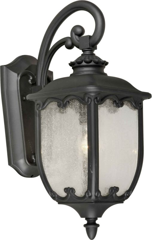 Forte Lighting 1819-01 8Wx20Hx11.5E Outdoor Wall Sconce Black Outdoor Sale $156.00 ITEM: bci1232301 ID#:1819-01-04 UPC: 93185042552 :