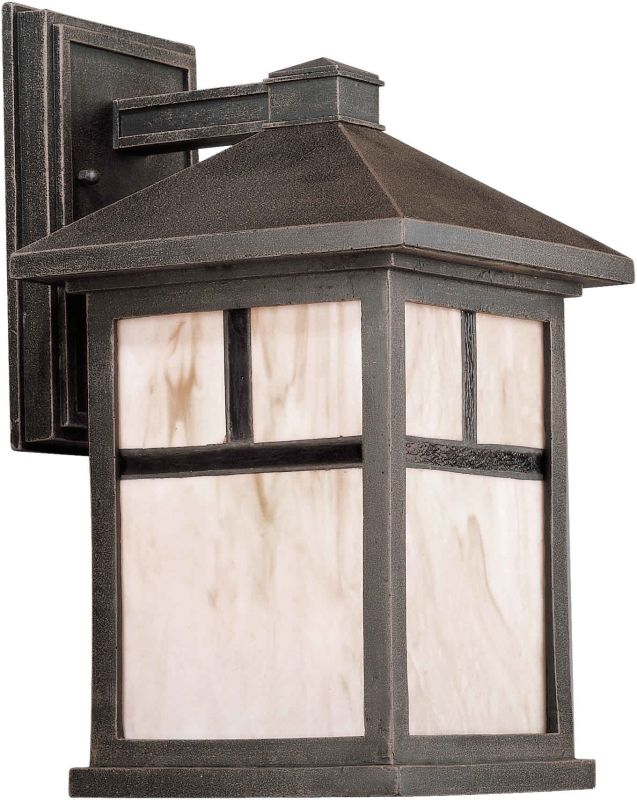 Forte Lighting 1873-01 Craftsman / Mission 1 Light Outdoor Wall Sconce