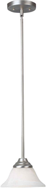 Forte Lighting 2176-01 Mini Pendant Brushed Nickel Indoor Lighting