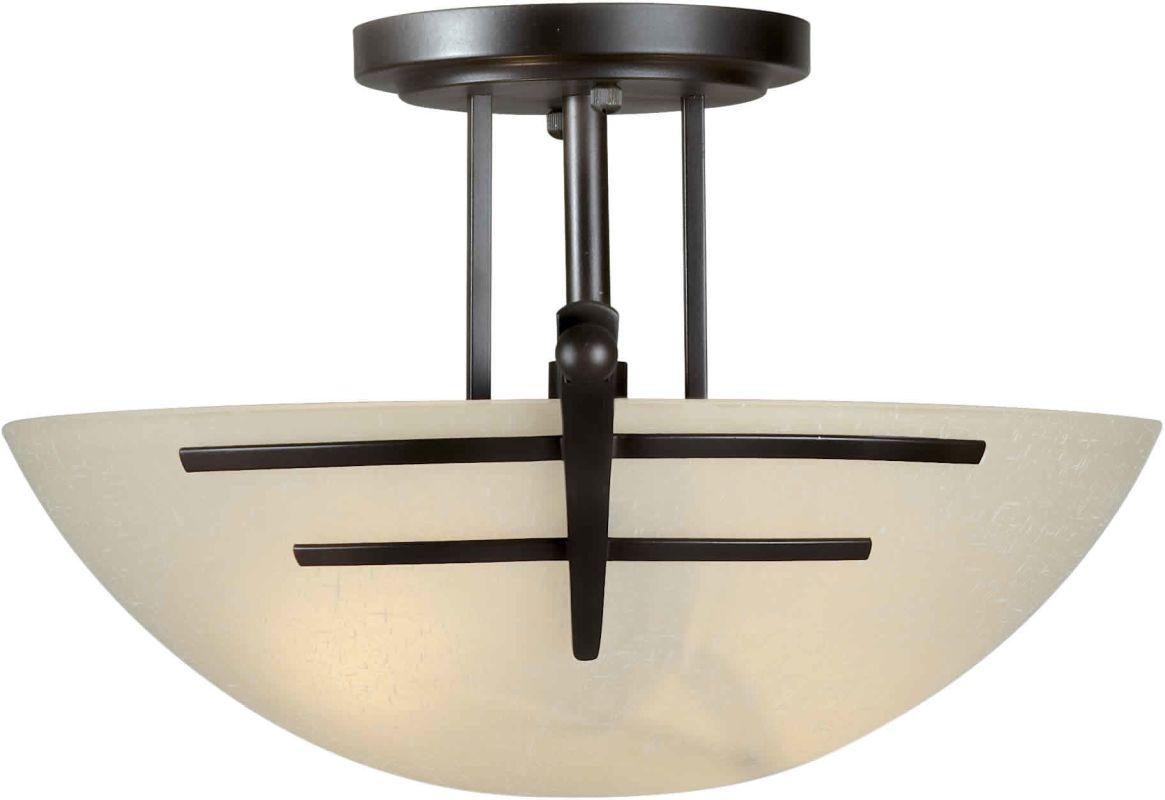 Forte Lighting 2231-02 Two Light Steel Semi-Flush Mount Ceiling Sale $99.00 ITEM: bci1232408 ID#:2231-02-32 UPC: 93185030825 :