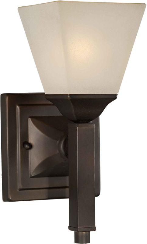 Forte Lighting 2284-01 Wall Sconce Antique Bronze Indoor Lighting Up
