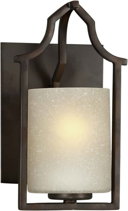 Forte Lighting 2402-01 6.75Wx11.5Hx7E Indoor Up Lighting Wall Sconce