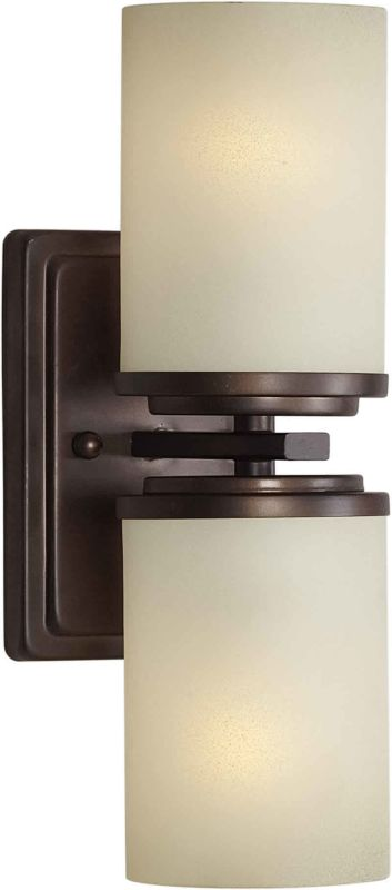 Forte Lighting 2424-02 4.5Wx13Hx5.5E Indoor Up Lighting Wall Sconce