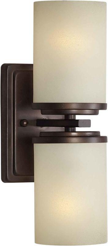 Forte Lighting 2424-02 4.5Wx13Hx5.5E Indoor Up Lighting Wall Sconce