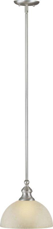 Forte Lighting 2441-01 Down Light Mini Pendant by Forte Brushed Nickel