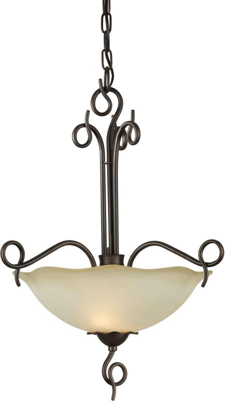 Forte Lighting 2463-02 16Wx22.5H 2 Light Bowl Pendant Antique Bronze Sale $143.00 ITEM: bci1232708 ID#:2463-02-32 UPC: 93185035257 :