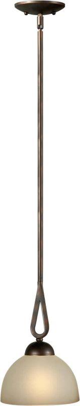 Forte Lighting 2474-01 7.75 Diameter Mini Pendant Antique Bronze Sale $78.00 ITEM: bci1232719 ID#:2474-01-32 UPC: 93185035448 :