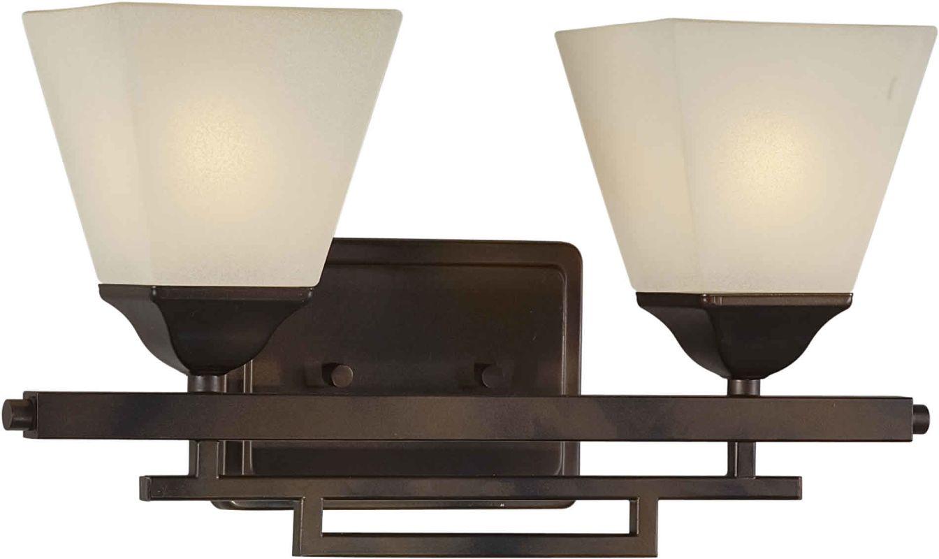 Forte Lighting 5084-02 Contemporary/ Modern 16.5Wx8.75Hx6E Indoor Up
