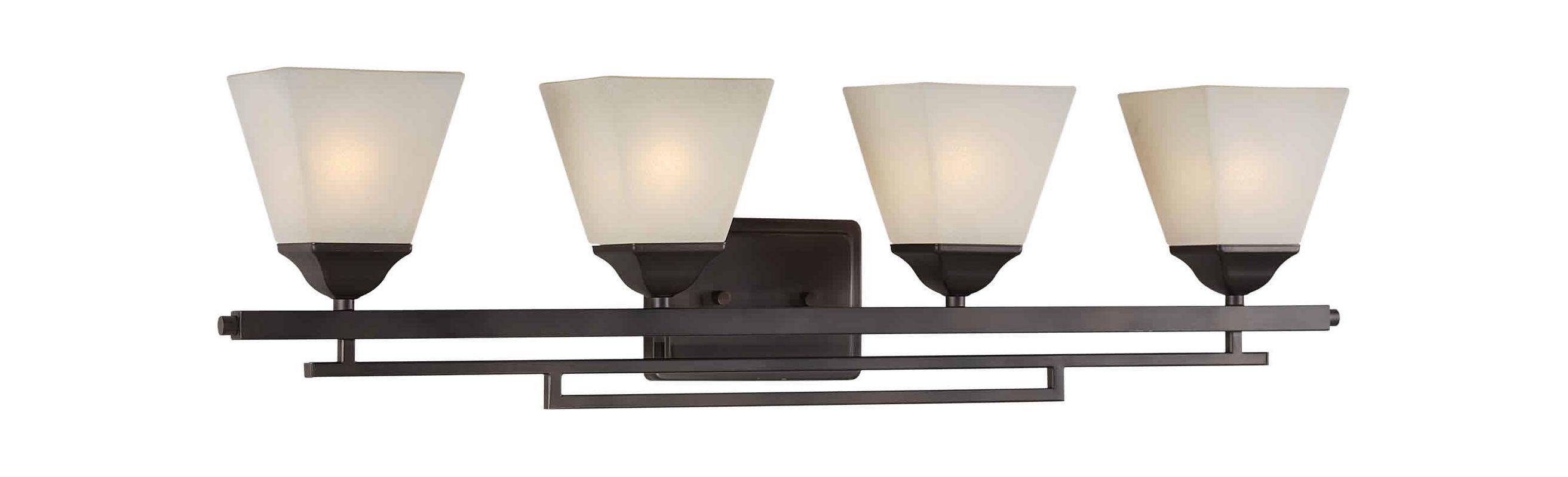 Forte Lighting 5084-04 Contemporary/ Modern 34Wx8.75Hx6E Indoor Up