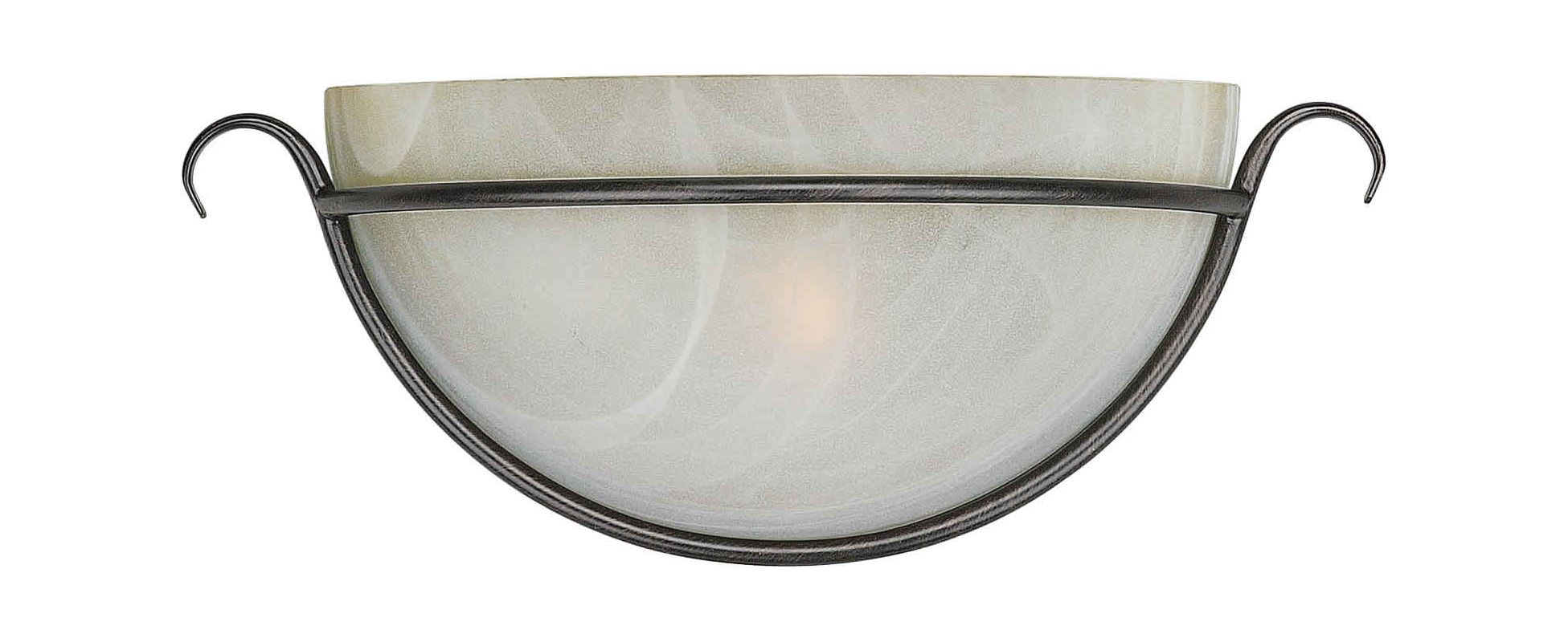 Forte Lighting 5098-01 Wall Washer Sconce Bordeaux Indoor Lighting