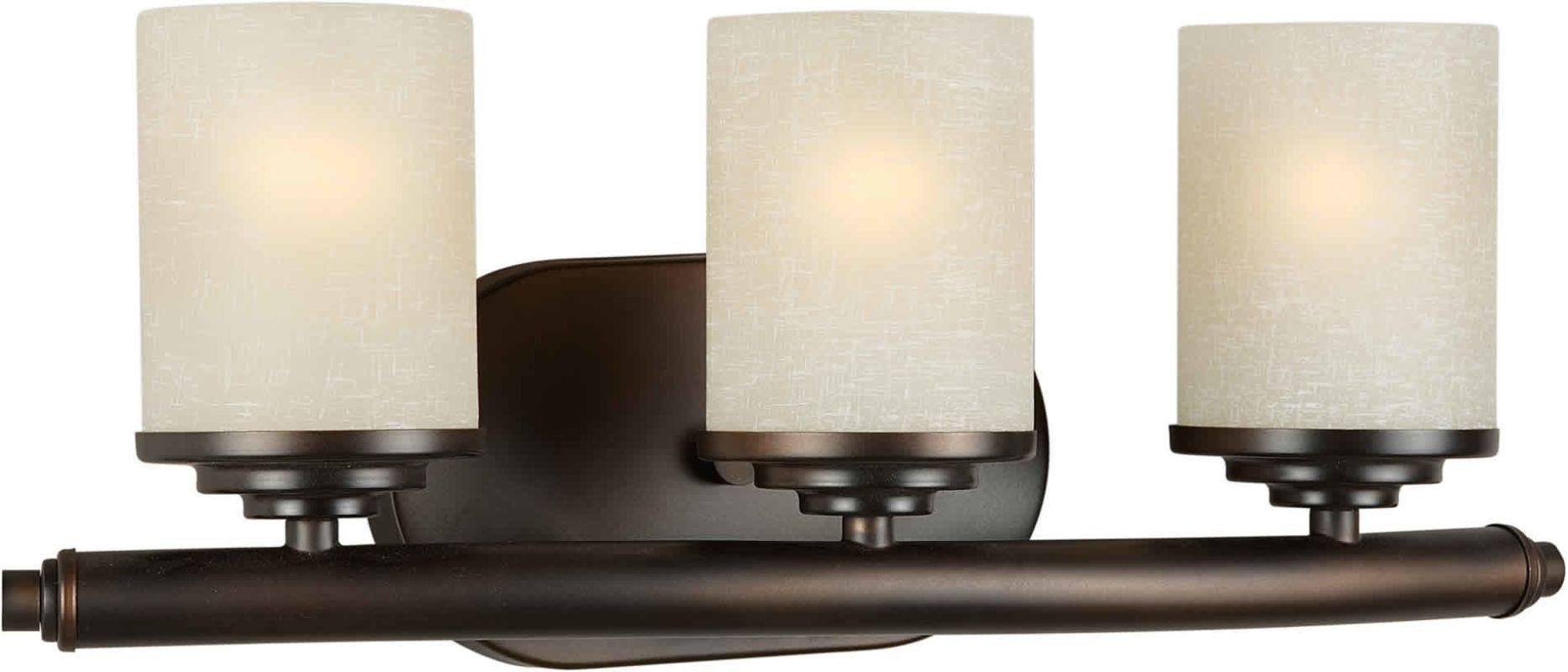 Forte Lighting 5105-03 3 Light Wall Sconce Antique Bronze Indoor