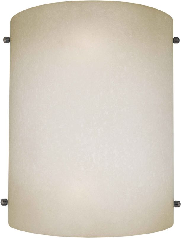 Forte Lighting 5121-02 Functional Wall Washer Sconce Umber Mist Indoor