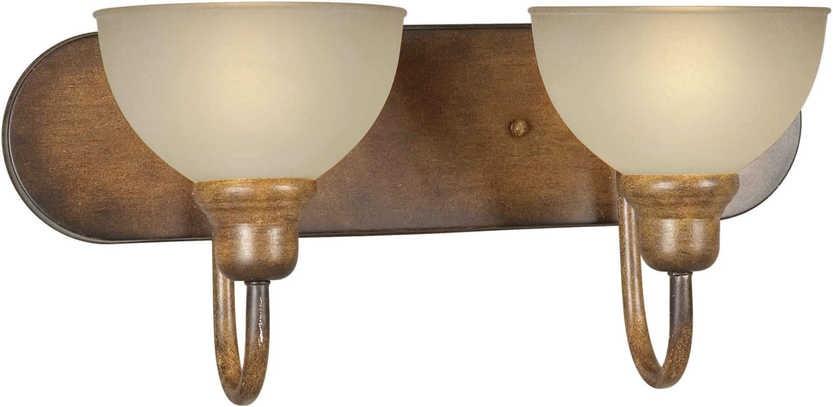 Forte Lighting 5166-02 18Wx8Hx8E Indoor Up Lighting Wall Sconce Rustic