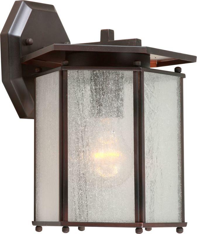 Forte Lighting 1130-01 1 Light Outdoor Wall Sconce Antique Bronze