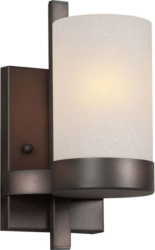 Forte Lighting 2548-01 1 Light Wall Sconce Antique Bronze Indoor