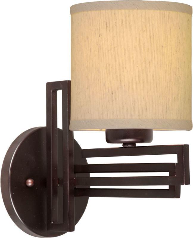 Forte Lighting 2550-01 1 Light Wall Sconce Antique Bronze Indoor