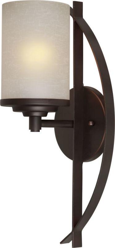 Forte Lighting 2554-01 1 Light Wall Sconce Antique Bronze Indoor
