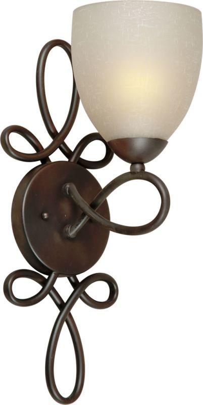 Forte Lighting 2561-01 1 Light Wall Sconce Antique Bronze Indoor