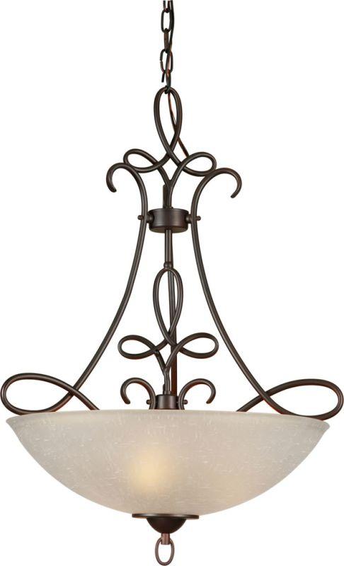 Forte Lighting 2561-04 4 Light Bowl Pendant Antique Bronze Indoor Sale $298.00 ITEM: bci2230642 ID#:2561-04-32 UPC: 93185043511 :