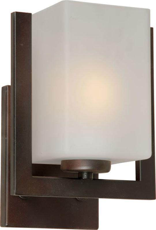 Forte Lighting 2669-01 1 Light Wall Sconce Antique Bronze Indoor