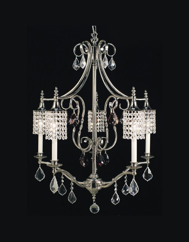 Framburg FR 2045 Crystal 5 Light Chandelier from the Nocturne