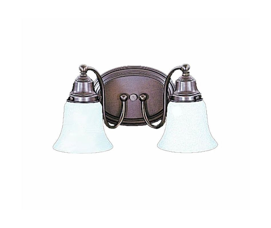 "Framburg FR 8412 2 Light 13"" Wide Bathroom Fixture from the Magnolia"