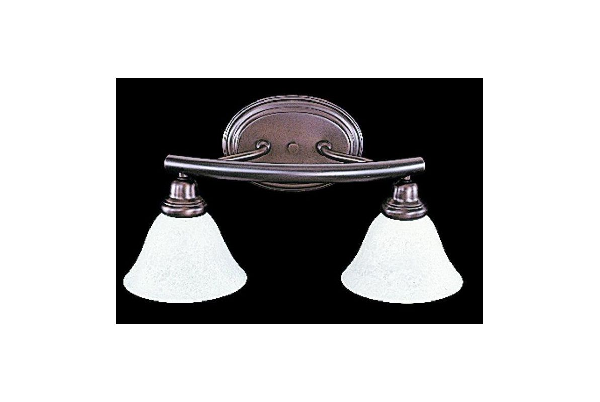 "Framburg FR 8942 2 Light 18.5"" Wide Bathroom Fixture from the Metro"