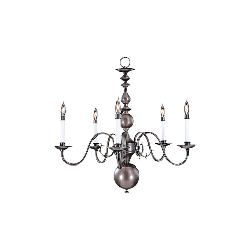 Framburg FR 9125 Williamsburg 5 Light Up Lighting Chandelier from the Sale $564.00 ITEM: bci303043 ID#:9125 MB :