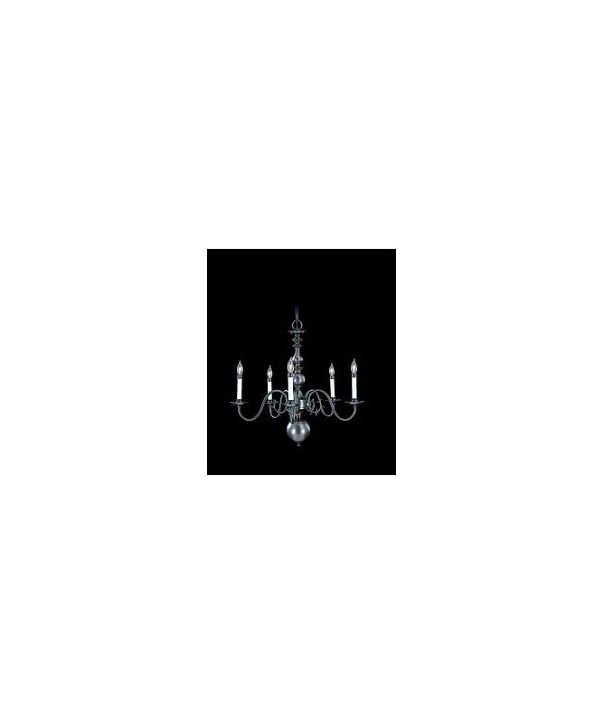 Framburg FR 9125 Williamsburg 5 Light Up Lighting Chandelier from the Sale $564.00 ITEM: bci303045 ID#:9125 SP :