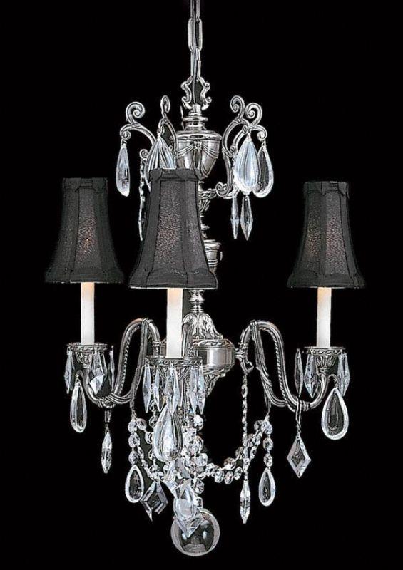 Framburg FR 9283 Crystal 3 Light Up Lighting Chandelier from the Sale $1636.00 ITEM: bci303198 ID#:9283 AS/BLACK :