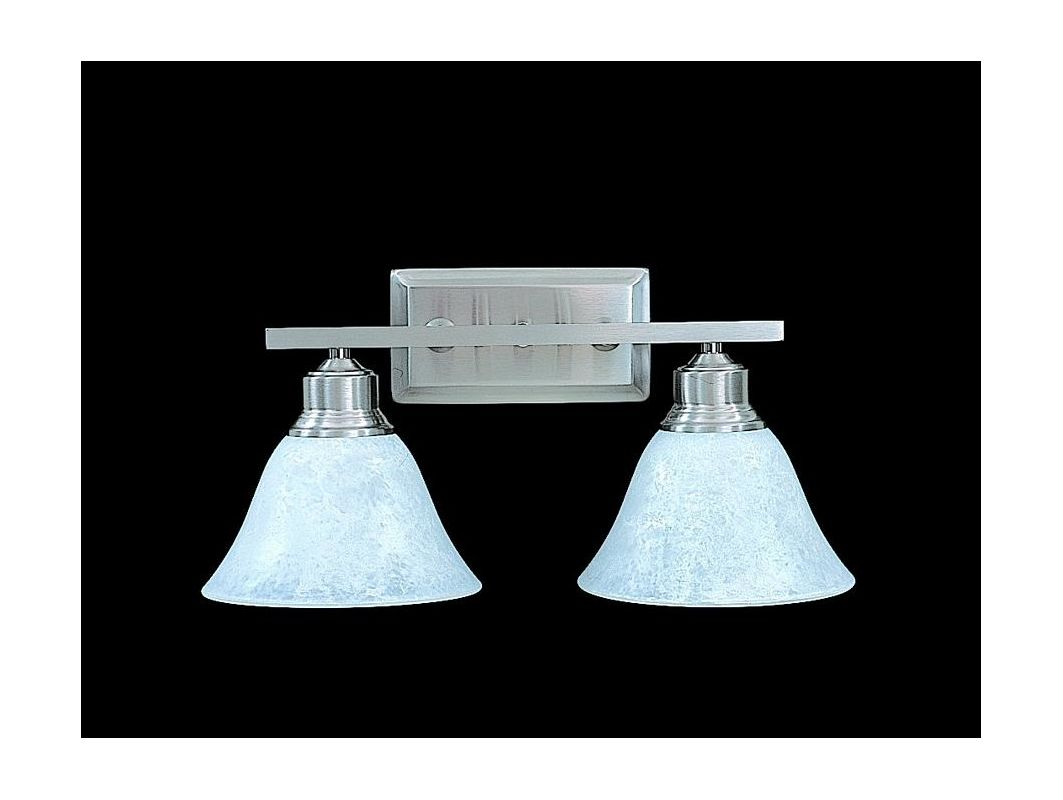 "Framburg FR 9322 2 Light 15.5"" Wide Bathroom Fixture from the Bellevue"