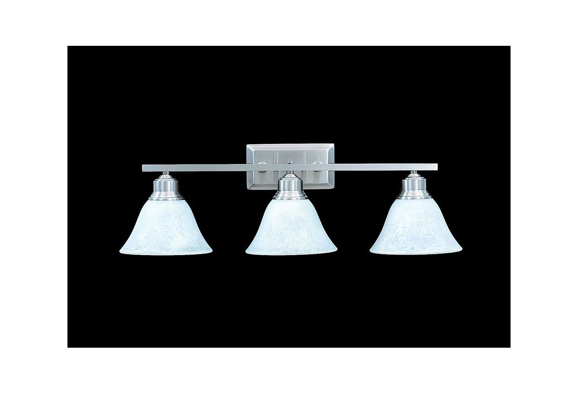 "Framburg FR 9323 3 Light 24.5"" Wide Bathroom Fixture from the Bellevue"