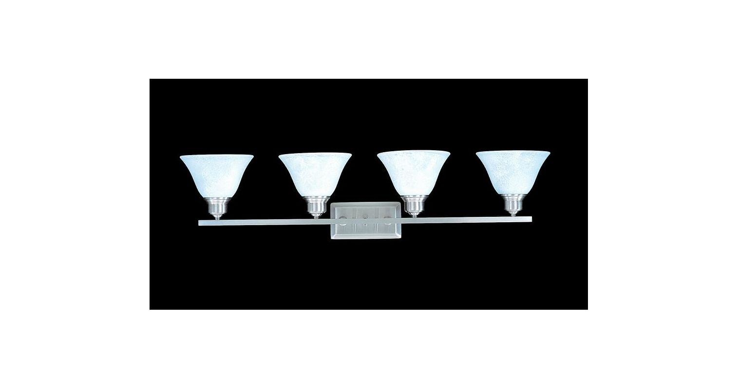 "Framburg FR 9324 4 Light 34"" Wide Bathroom Fixture from the Bellevue"
