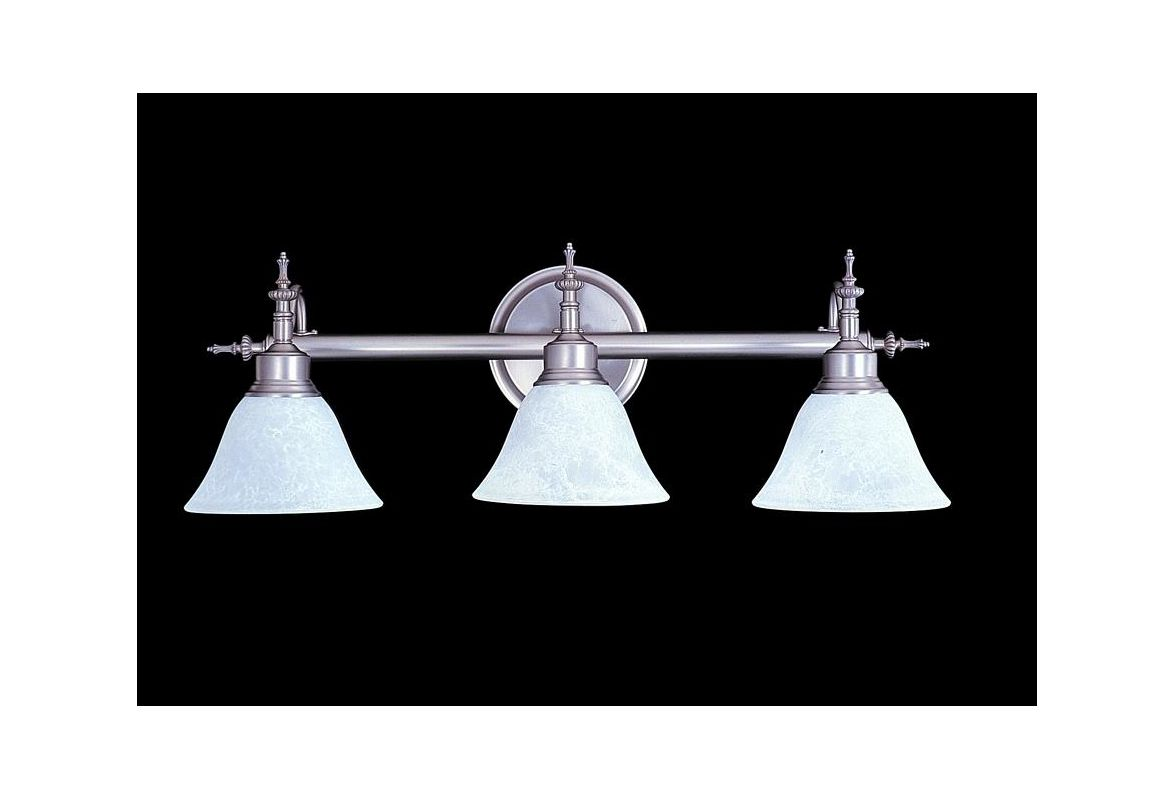 "Framburg FR 9443 3 Light 26.5"" Wide Bathroom Fixture from the Provence"