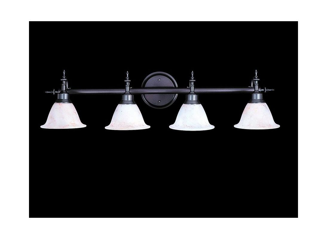 "Framburg FR 9444 4 Light 36"" Wide Bathroom Fixture from the Provence"