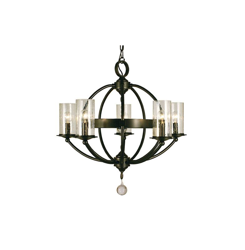 Framburg 1075 Compass 5 Light Globe Chandelier Mahogany Bronze Indoor Sale $550.00 ITEM: bci2658180 ID#:1075 MB :