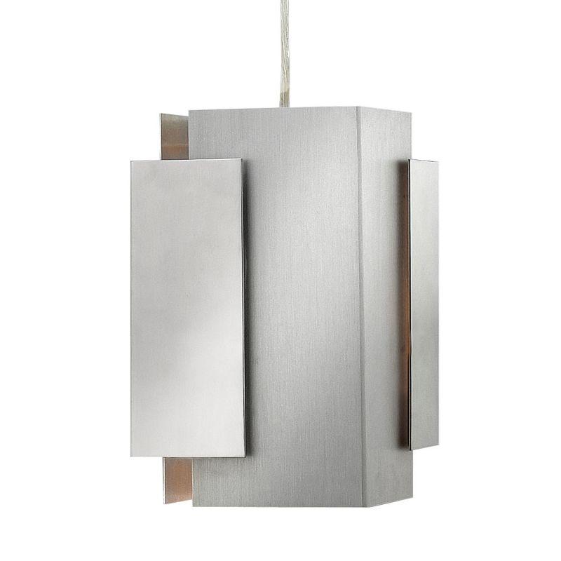 Fredrick Ramond FR30407 1 Light Mini Pendant from the Stratus Sale $159.00 ITEM: bci2658656 ID#:FR30407PBA UPC: 640665906066 :