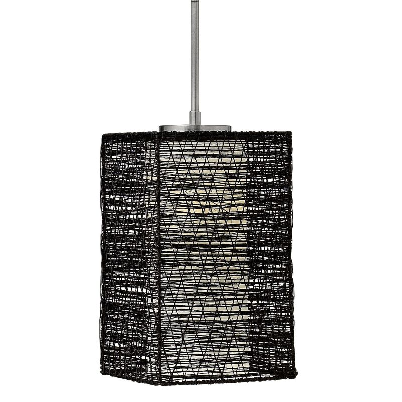 Fredrick Ramond FR30827 1 Light Mini Pendant from the Maya Collection Sale $199.00 ITEM: bci2234011 ID#:FR30827BNI UPC: 640665908107 :