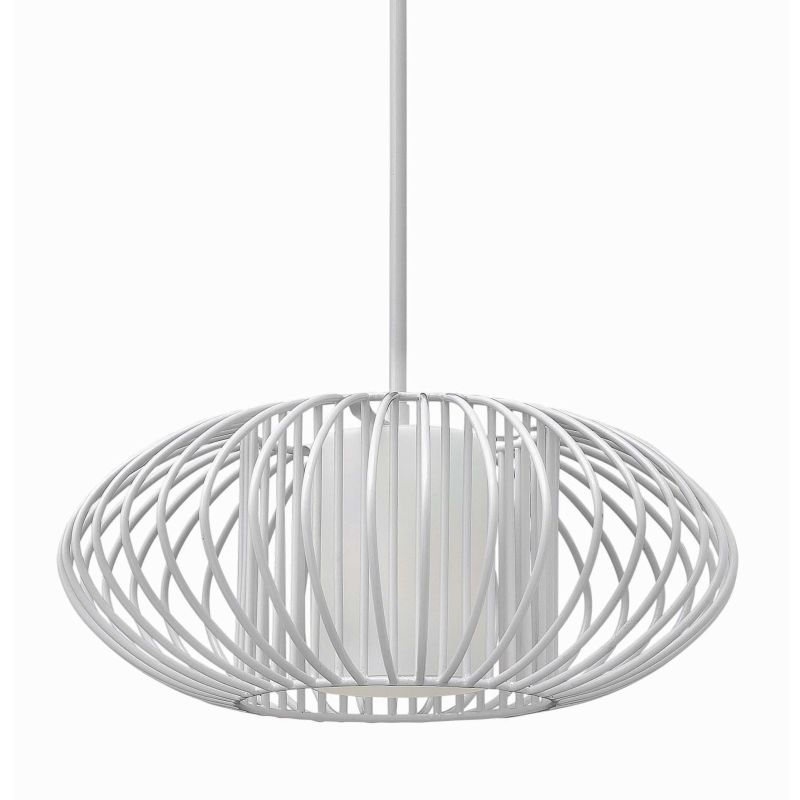 Fredrick Ramond FR32557 1 Light Full Sized Pendant from the Vibe Sale $469.00 ITEM: bci2658662 ID#:FR32557CLD UPC: 640665000870 :