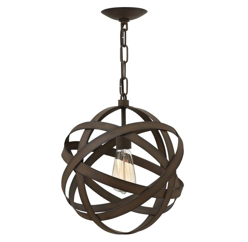 Fredrick Ramond FR40707 1 Light Full Sized Pendant from the Carson Sale $279.00 ITEM: bci2658682 ID#:FR40707VIR UPC: 640665002218 :