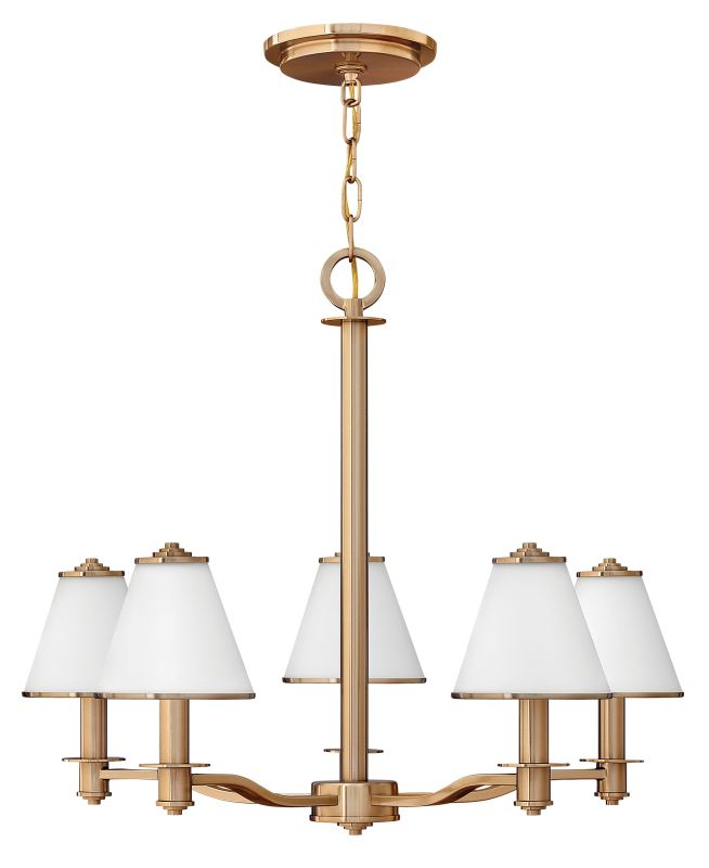 Fredrick Ramond FR43605 5 Light 1 Tier Chandelier from the Coco